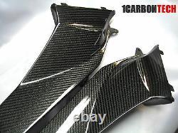 03 04 05 06 2005 2006 Honda Cbr 600rr Carbon Fiber Intake Covers