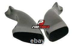04-05-06 Carbon Race Air Intakes Pipes Dutcs Tubes Inlet Yamaha Yzf R1 2004-2006