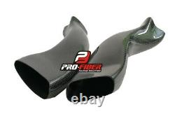 07-08 Carbon Race Air Intakes Pipes Dutcs Tubes Inlet Yamaha Yzf R1 2007-2008