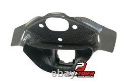 08-10 Carbon Race Air Duct Intake Clock Fairing Bracket Kawasaki Zx-10r Zx10r 10