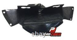 09-13 Carbon Race Air Duct Intake Clock Fairing Bracket Kawasaki Zx6-r Zx-6r