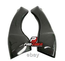 09-14 Carbon Race Air Intakes Pipes Dutcs Tubes Inlet Yamaha Yzf R1 2009-2014