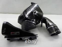12-17 Audi C7 S6 AWE Tuning CIA Carbon Fiber CF Cold Air Intake Needs Repair 4G