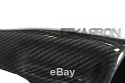 2002 2009 Buell XB Carbon Fiber Air Intake Cover RH 2x2 Twill weave