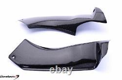 2003-2004 Kawasaki ZX6R ZX 6R 100% Carbon Fiber Air Intake Dash Panel Cover Trim
