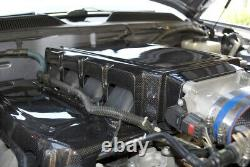 2005-2010 Mustang GT 4.6 High Gloss REAL Carbon Fiber Engine Intake Plenum Cover