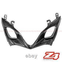 2007 2008 Suzuki GSX-R 1000 Carbon Fiber Lower Nose Air Intake Ram Fairing Cowl