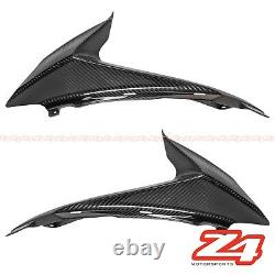 2008-2010 GSX-R 600 750 Carbon Fiber Front Side Nose Air Intake Ram Fairing Cowl