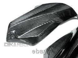 2009 2011 2012 2013 2014 BMW K1300R Carbon Fiber Air Intake Covers -2x2 twill