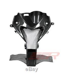 2009-2014 BMW S1000RR Nose Center Headlight Air Ram Intake Fairing Twill Carbon