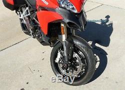 2010-2014 Ducati Multistrada 1200 Carbon Fiber Front Beak Ram Air Intake Nose