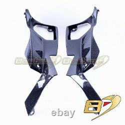 2014-2016 Kawasaki Z1000 Front Inner Air Intake Grille Cover Carbon Fiber
