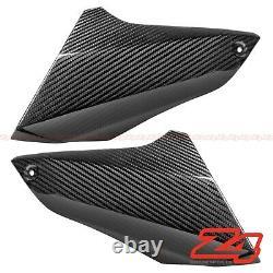 2014-2016 MT09 FZ09 Upper Side Mid Air Intake Panel Cowl Fairing Carbon Fiber