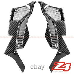 2014-2016 Z1000 Front Inner Air Intake Grille Cover Fairing Cowling Carbon Fiber