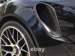 2014 Porsche 991 Turbo S CARBON FIBER Side Air Intakes Scoop kit. NEW WOW