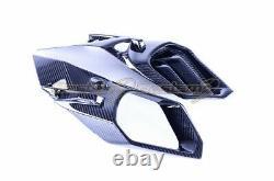 2015-2018 Ninja H2 Upper Front Nose Air Intake Ram Fairing Cowling Carbon Fiber