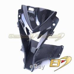 2015-2019 BMW S1000RR Upper Center Nose Air Intake Ram Fairing Cowl Carbon Fiber