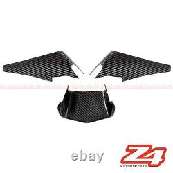 2015-2019 R1 R1M R1S Upper Front Nose Air Intake Scoop Cover Cowl Carbon Fiber