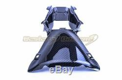 2016-2019 ZX-10R Carbon Fiber Air Intake Cover Nose Fairing Twill Weave Pattern