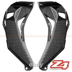 2016-2020 ZX-10R Carbon Fiber Upper Front Dash Air Intake Ram Cover Cowl Fairing