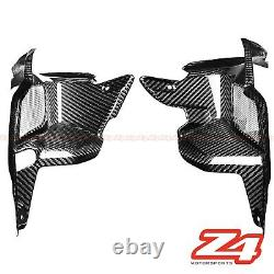 2017-2019 Z900 Carbon Fiber Front Inner Air Intake Vent Grille Fairing Cowling