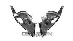 2017 2020 Kawasaki Z900 Carbon Fiber Air Intake Covers 2x2 twill weave