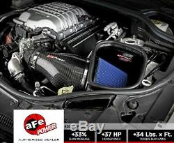 AFE 57-10002R Carbon Fiber Cold Air Intake 2018 Jeep Grand Cherokee Trackhawk