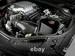 AFe Track Carbon Fiber Cold Air Intake For 18 Jeep Grand Cherokee Trackhawk 6.2L