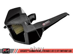 AWE Tuning AirGate Carbon Fiber Intake Without Lid for Audi B9 3.0T / 2.9TT
