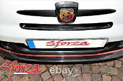Abarth 500 Carbon Fibre Front Air Intake Cover