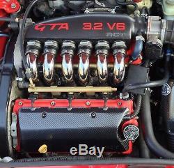 Alfa Romeo 24v Busso V6 Carbon fiber air box intake kit 147 156 GT GTA GTV