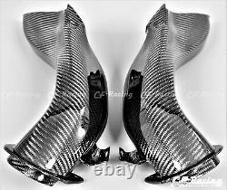 Aprilia RSV4 RR/RF Air Intake Tubes (2009-2019) Carbon Fiber