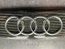 Audi r8 carbon fibre intake manifold decals made by DBCarbon Germany