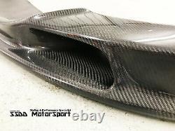 BMW E90 E92 E93 M3 VRS II Racing Carbon Fibre Front Lip Splitter With Air Intake