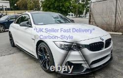 BMW F80 M3 F82 M4 Carbon Fiber Front Bumper Intake Splitter Trim