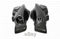 BMW K1200R Air Ram Duct Intake Covers Front Side Fairings Carbon Fiber