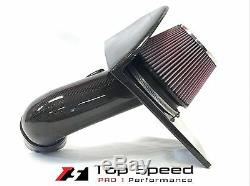 Cadillac CTS-V CTSV 6.2L V8 Supercharged 09-15 Carbon Fiber Intake + K&N Filter