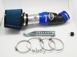 Carbon Fiber Air Intake System Filter For 01-07 Subaru Impreza WRX STI GD GG