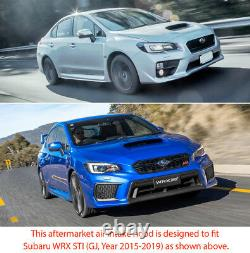 Carbon Fiber Air Intake Vent Hood Scoop Bonnet For Subaru WRX STI GJ 2015 2016 G