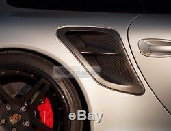 Carbon Fiber Rear Fender Air Scoop Intake Air Duct for Porsche 991 Turbo (997)