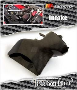 Carbon Fibre Engine Air Box Intake Cover Airbox fits Mitsubishi Evolution EVO 10