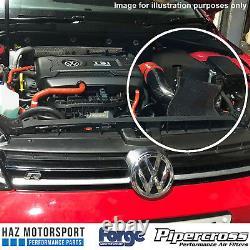 Carbon Fibre Induction Kit/Air Filter + Intake Hose VW Golf Mk7 R/GTI Audi S3 8V