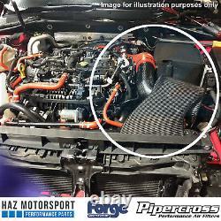 Carbon Fibre Induction Kit + Intake Inlet Hose VW Golf Mk7 R/GTI Audi S3 8V Blue