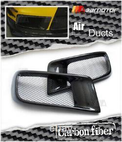 Carbon Fibre R Type Front Bumper Air Intake Duct fits Mitsubishi Evolution EVO X