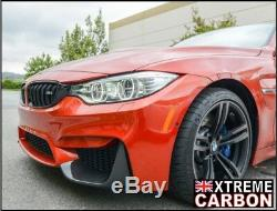 Carbon Front Air Intake Covers Canards Flaps splitters Fits BMW M3 M4 F80 F82