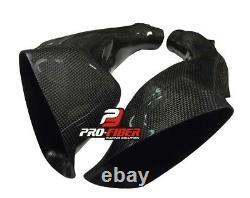 Carbon Race Air Intakes Pipes Tubes For Suzuki Gsxr Gsx-r 600 750 2011-2020 L1
