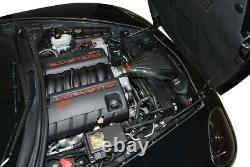 Corsa 44108-1 Carbon Fiber Cold Air Intake 2008-2013 Corvette C6 LS3 6.2L