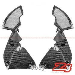 DISCOUNT 2010-2013 Z1000 Front Inner Air Intake Ram Fairing Cowling Carbon Fiber