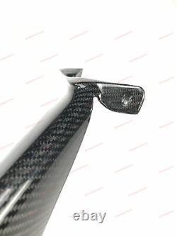 DRY CARBON FIBER AIR INTAKE FLAPS VENTS COVERS for FERRARI 488 GTB 2015 2019