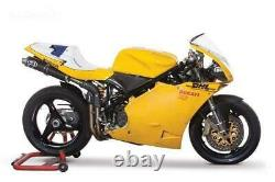 Ducati 748 916 996 998 Carbon Air Intake Covers Plain Gloss Weave Pair Fibre